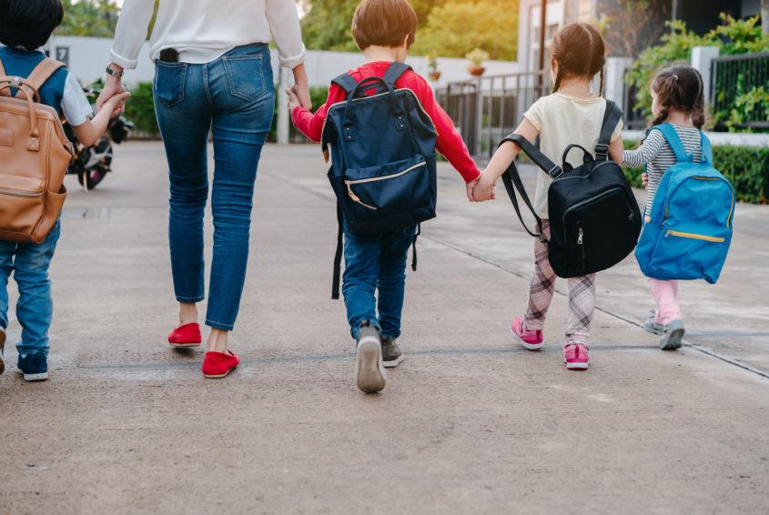czwórka dzieci emerytura