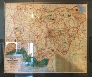 Nasza afrykańska przygoda_mapa Nigerii