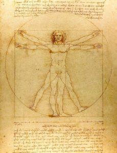 Leonardo da Vinci_biografia_człowiek witruwiański