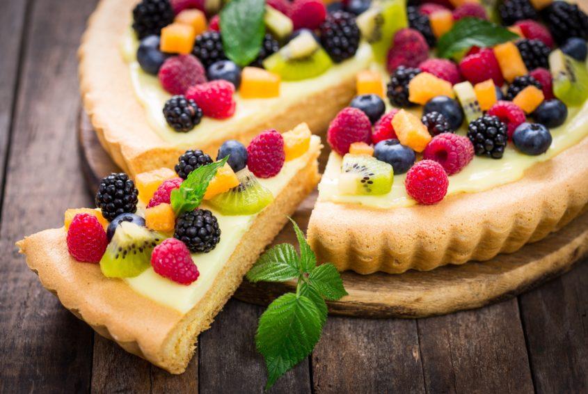 Tarta z owocami - przepis