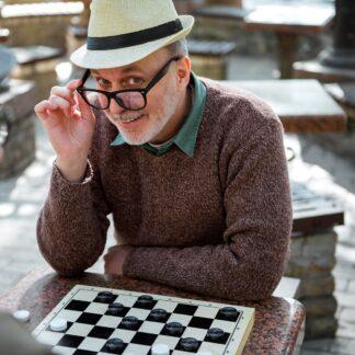 Hobby emeryta - gry