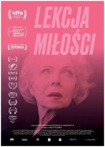 Lekcja miłości - film dokumentalny -plakat