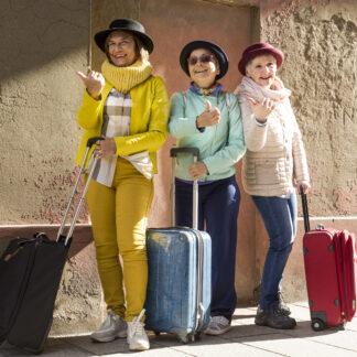 Hobby emeryta podróże