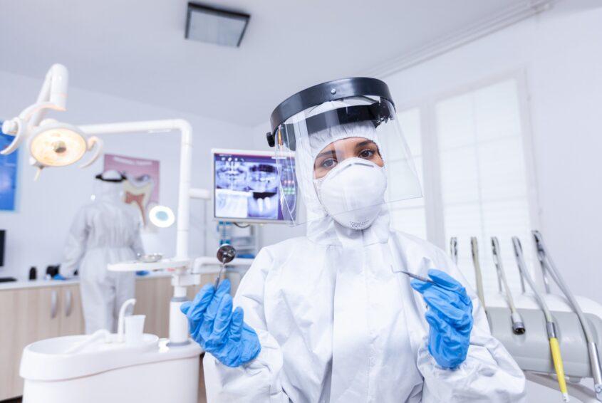 Dentysta w pandemii