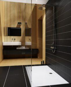 Strefa prysznica dla seniora