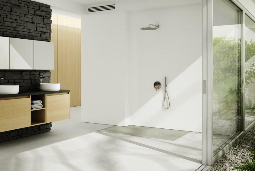 prysznic walk-in dla seniora