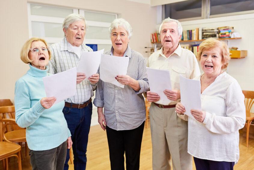 Hobby emeryta - śpiewanie